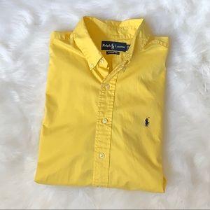 Ralph Lauren short sleeve button down shirt